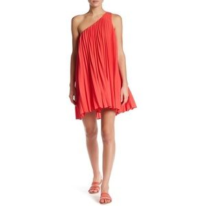 Trina Turk Skyla One Shoulder Dress